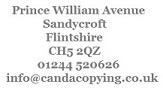 Canda Copying Ltd